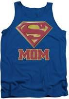 Superman Super Mom Mens Tank Top Shirt Blue LG