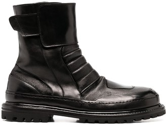 Premiata Chunky Leather Boots