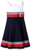 Bonnie Jean Girls Easter Red / Nautical Sailor Uniforms Dress