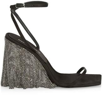 Alexander Wang Blake Crystal-Embellished Sandals