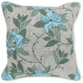 Classic Concepts Fatima Rose Embroidered Pillow