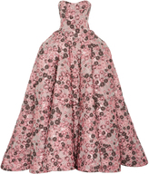 Zac Posen Jacquard Cloque Gown