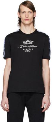 Dolce & Gabbana Black and White Millennials Star T-Shirt