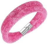 Swarovski Women Pink Glass FASHIONNECKLACEBRACELETANKLET