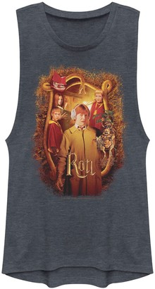 Licensed Character Juniors' Harry Potter and The Chamber Of Secrets Ron Banner Muscle Tank