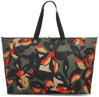 Tumi Voyageur Just In Case Abstract Floral-Print Tote
