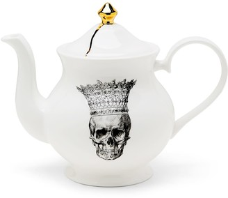 Melody Rose London Skull In Crown Teapot
