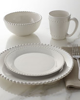 Horchow 16-Piece Bianca Beaded-Edge Dinnerware