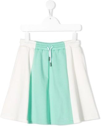 Marni Panelled Drawstring Skirt