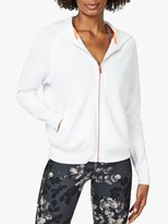 Sweaty Betty Chiswick Crop Hoodie, White