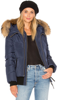 Mackage Romane Jacket with Asiatic Raccoon Fur Trim