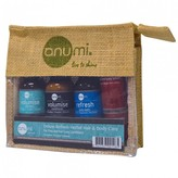 Anumi Deluxe Refresh Herbal Hair and Body Travel Set For Him 5 pack