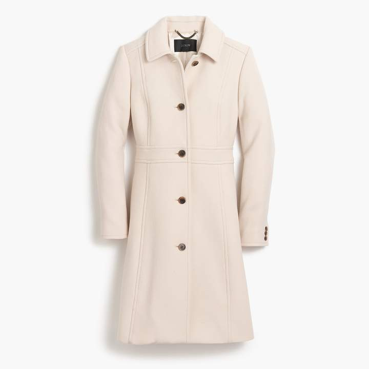 J.Crew Italian double-cloth wool lady day coat with Thinsulate®