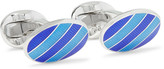 Deakin & Francis - Enamelled Sterling Silver Cufflinks
