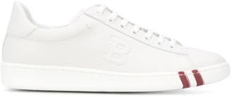 Bally Raised Logo Sneakers