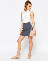 Sugarhill Boutique Hayley Skirt In Spot Jacquard