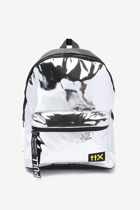 Ardene Patent Faux Leather Backpack
