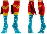 Bioworld DC Comics Wonder Woman Shiny Cape Knee High Socks