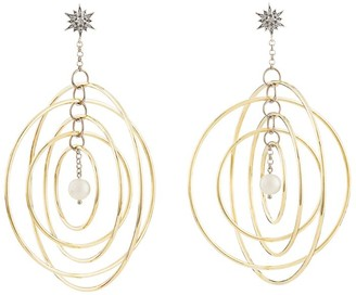 H.Stern Noble Gold, Diamond and Pearl Pearls of Genesis Earrings