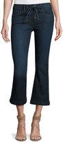Frame Le Crop Mini Boot-Cut Lace-Up Jeans, Hayworth