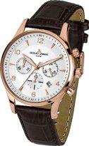 Jacques Lemans Men's Quartz Watch London 1-1654H with Leather Strap