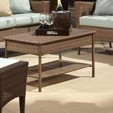Panama Jack Key Biscayne Wicker/Rattan Coffee Table Outdoor
