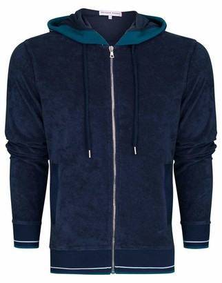 Orlebar Brown Mathers Navy Classic Fit Hooded Sweatshirt