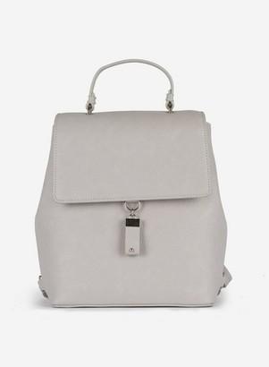 Dorothy Perkins Womens Grey Tab Detail Backpack, Grey