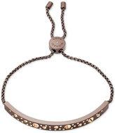Michael Kors Pavé Bar Slider Bracelet