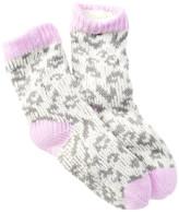 Capelli of New York Leopard Slipper Socks