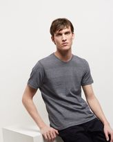 Jaeger Cotton Textured Stripe T-Shirt