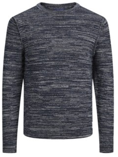 Jack and Jones Men's Structured Long Sleeve Sweater