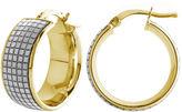 FINE JEWELRY Made In Italy 14K Gold Hoop Earrings