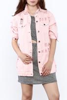 Hot & Delicious Pink Denim Jacket