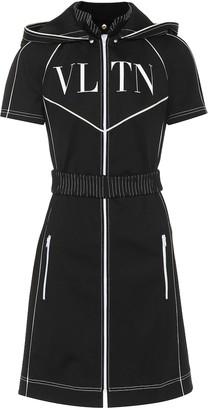 Valentino VLTN tech jersey dress