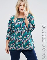 Junarose Plus Pinted Blouse
