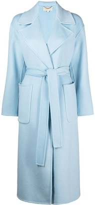 MICHAEL Michael Kors Wool Blend Robe Coat