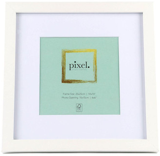 Pixel Photo Frames Pixel White Photo Frame 25x25cm with 15x15cm Opening
