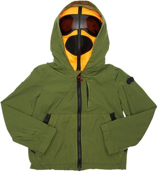 AI Riders On The Storm Hooded Nylon Coat W/ Lenses