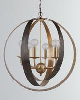 Crystorama Luna 6-Light Sphere Large Chandelier