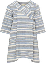 Isolde Roth Plus Size Striped tunic
