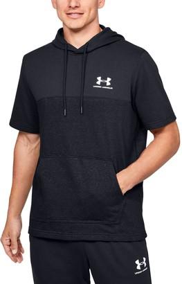 Under Armour Men's UA Sportstyle Short Sleeve Hoodie