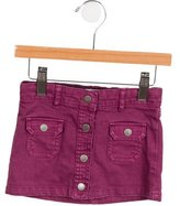 Stella McCartney Girls' Denim Mini Skirt