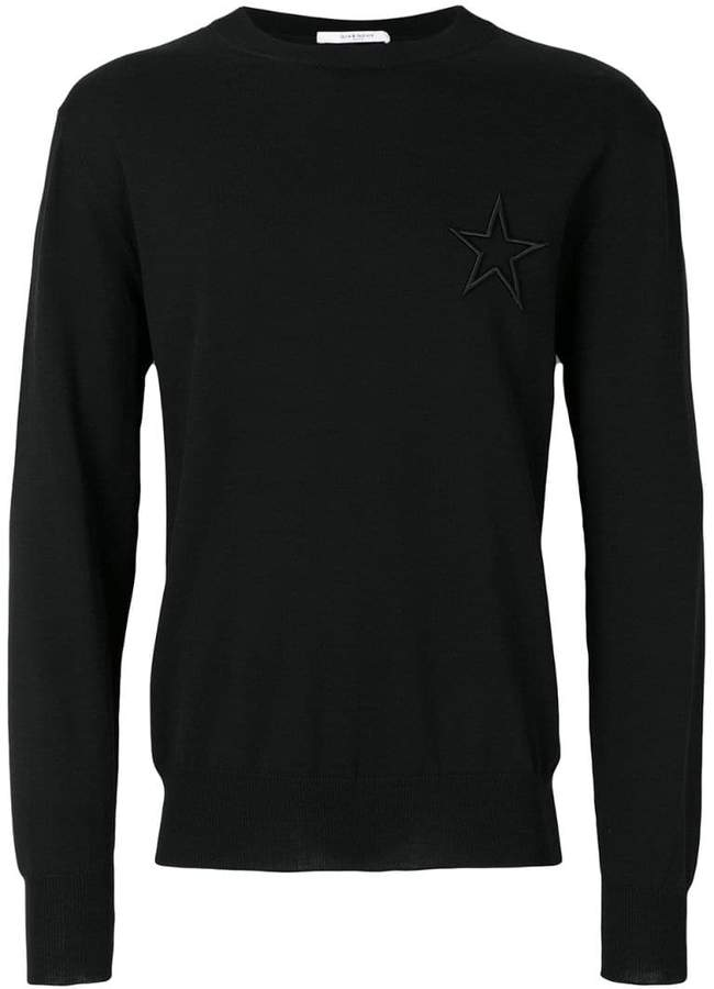 Givenchy embroidered Star jumper
