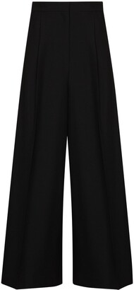 Loewe Wide-Leg High-Rise Trousers