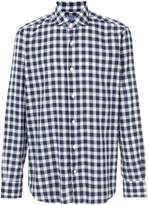 Barba checked shirt