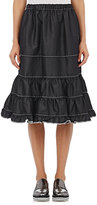 Comme des Garcons Women's Tiered Ruffle Skirt-BLACK
