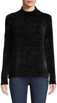 Saks Fifth Avenue Chenille Mockneck Sweater