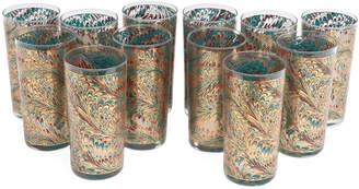 N. Vintage Bar Highball Glasses, Set of 12