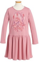 Tea Collection Toddler Girl's Momo Embroidered Dress